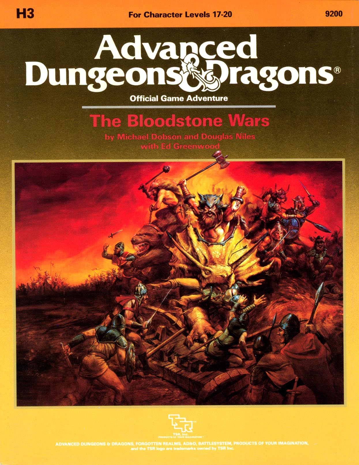 Cover of H3 The Bloodstone Wars