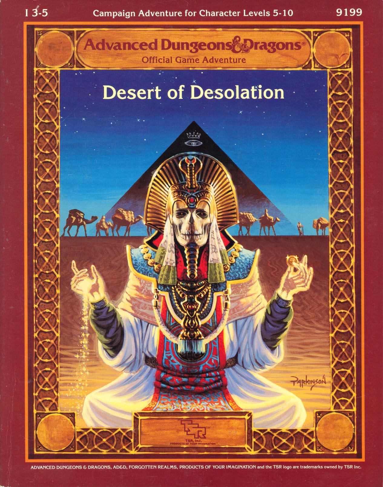 Cover of I3-5 Desert of Desolation