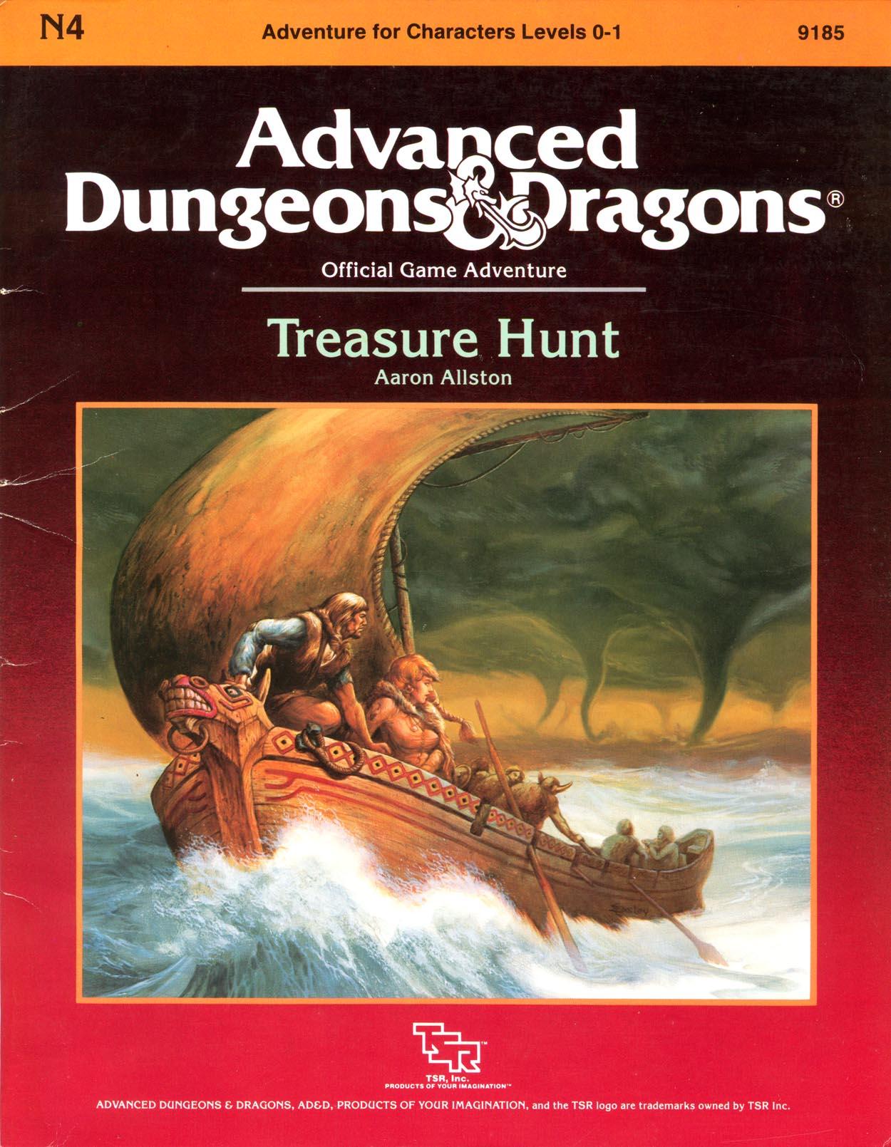 Cover of N4 Treasure Hunt