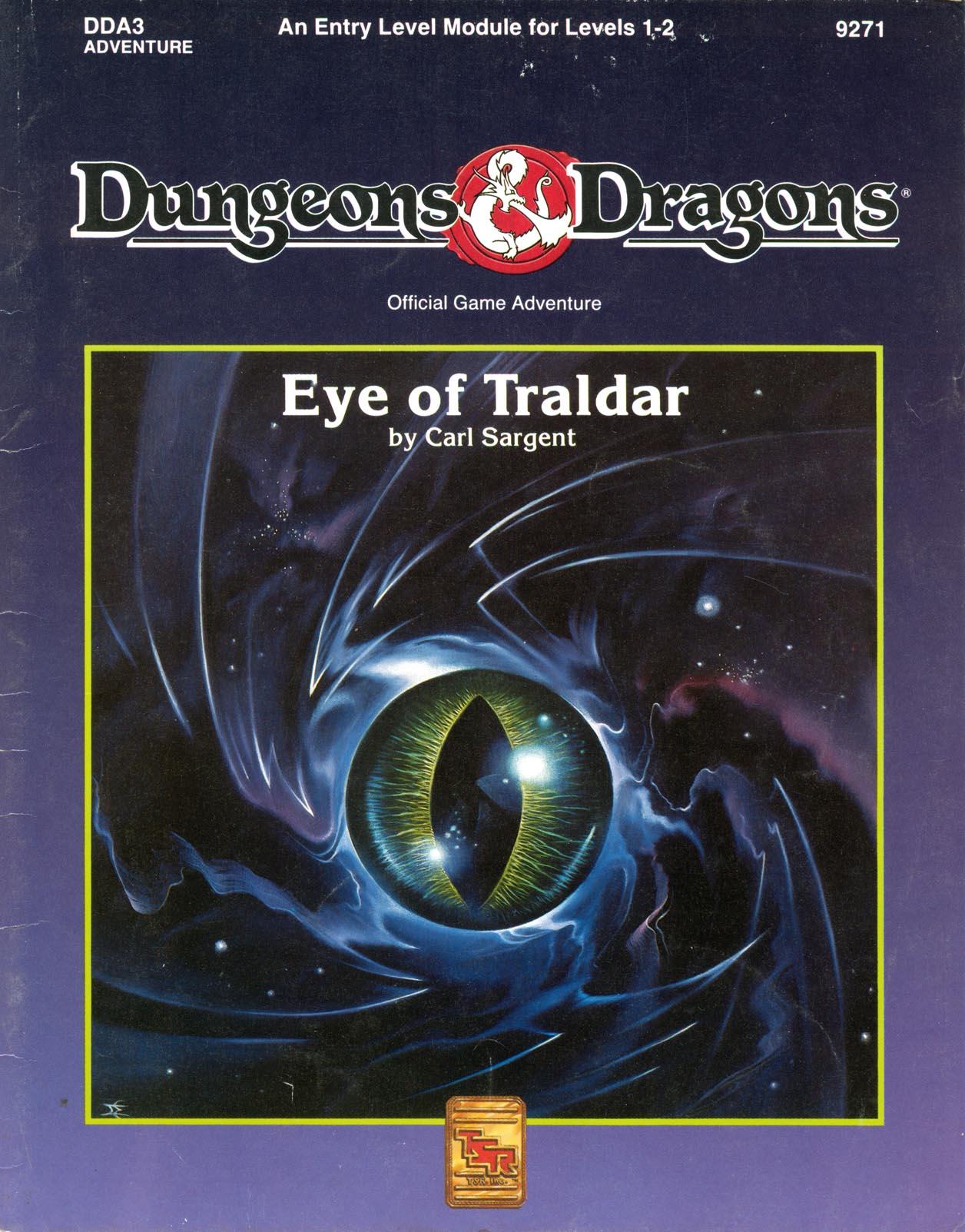 Cover of DDA3 Eye of Traldar