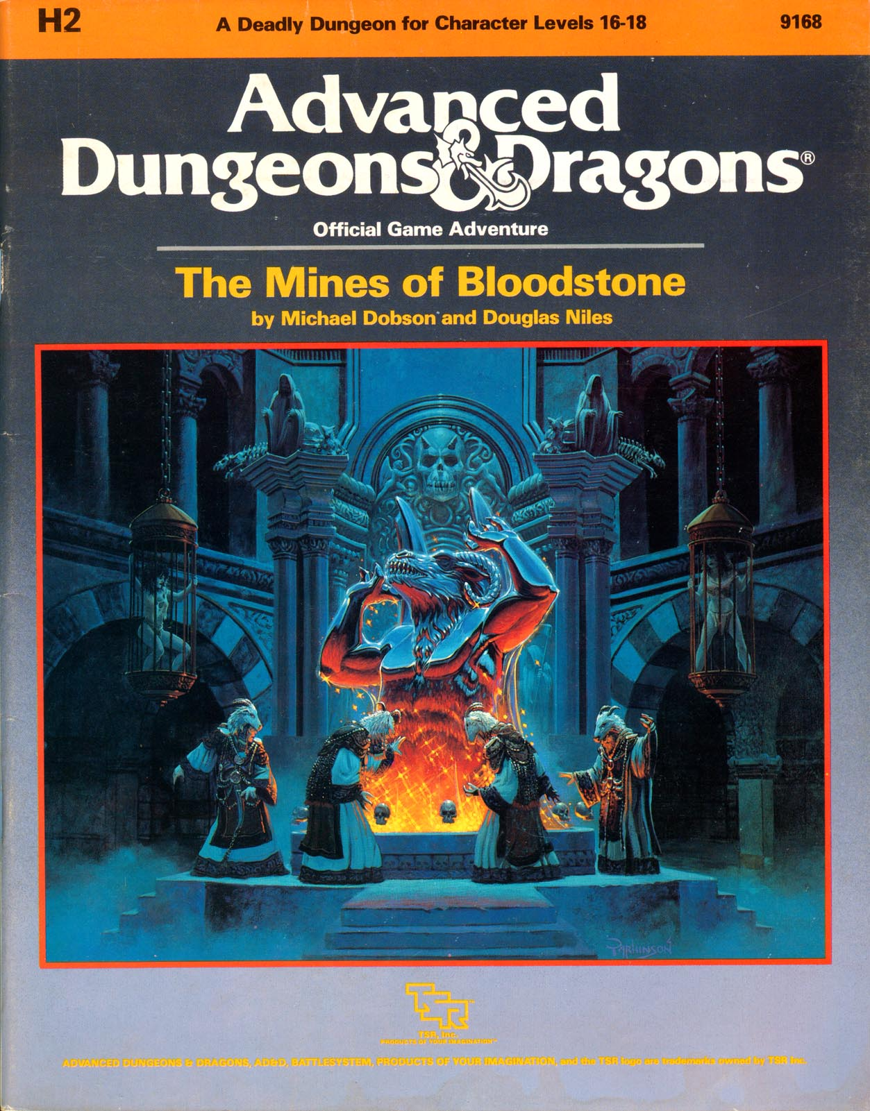 Cover of H2 The Mines of Bloodstone