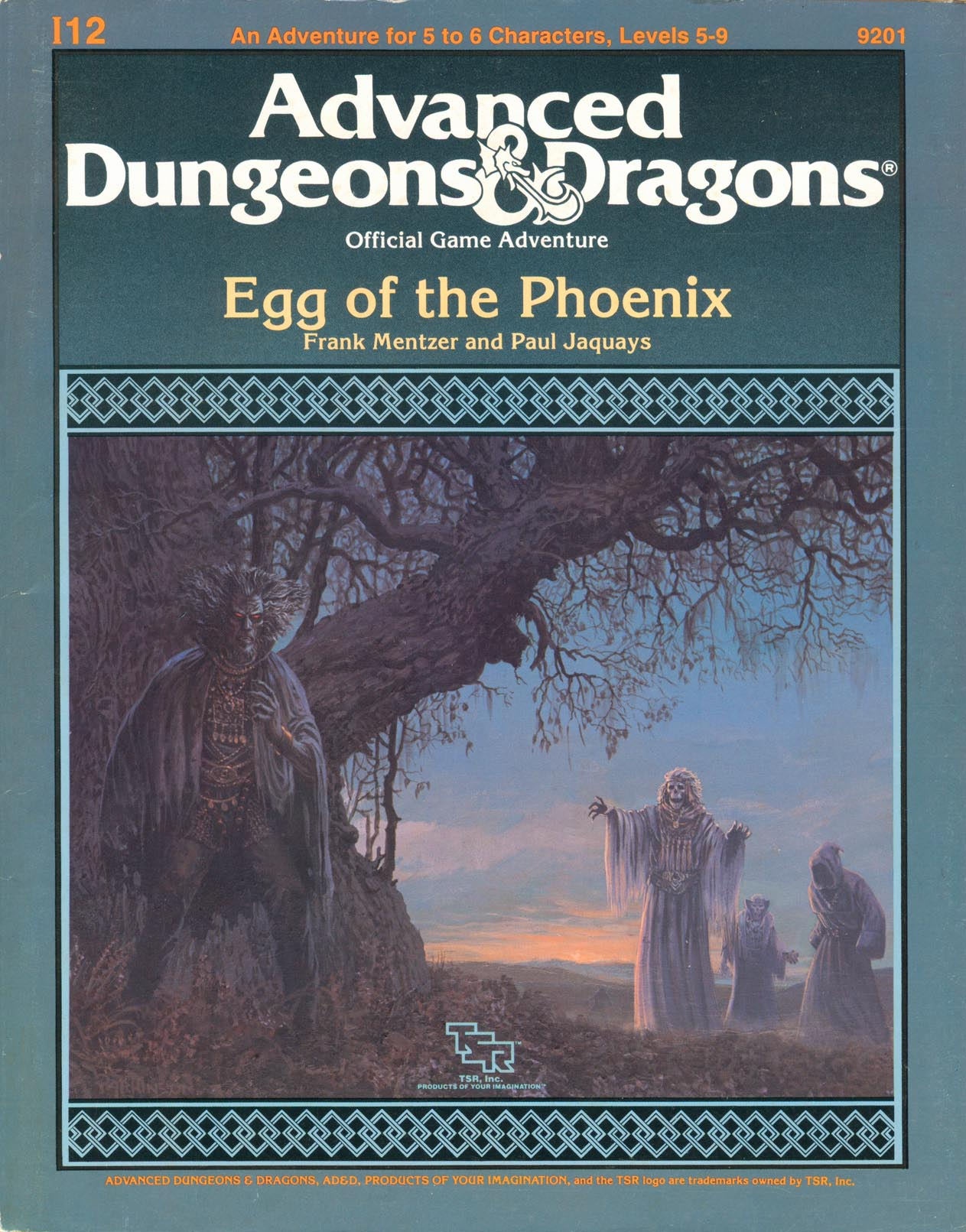 Cover of I12 Egg of the Phoenix