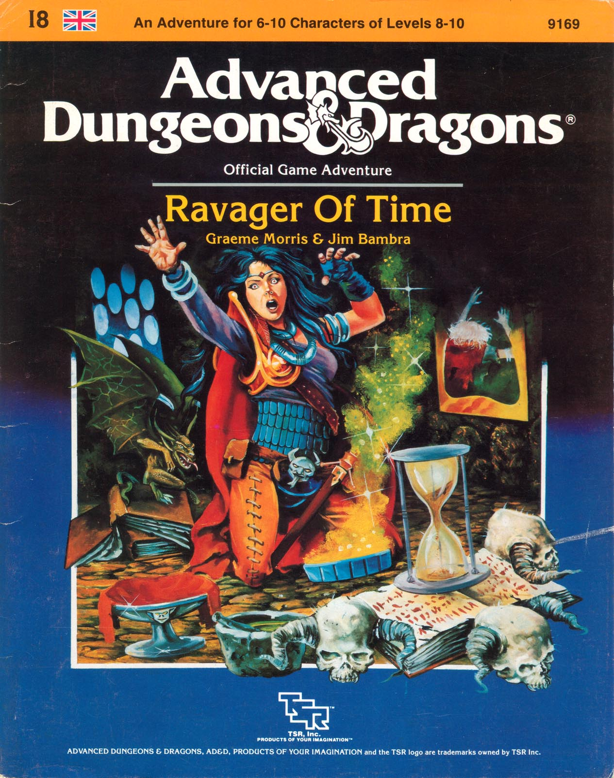Cover of I8 Ravager of Time