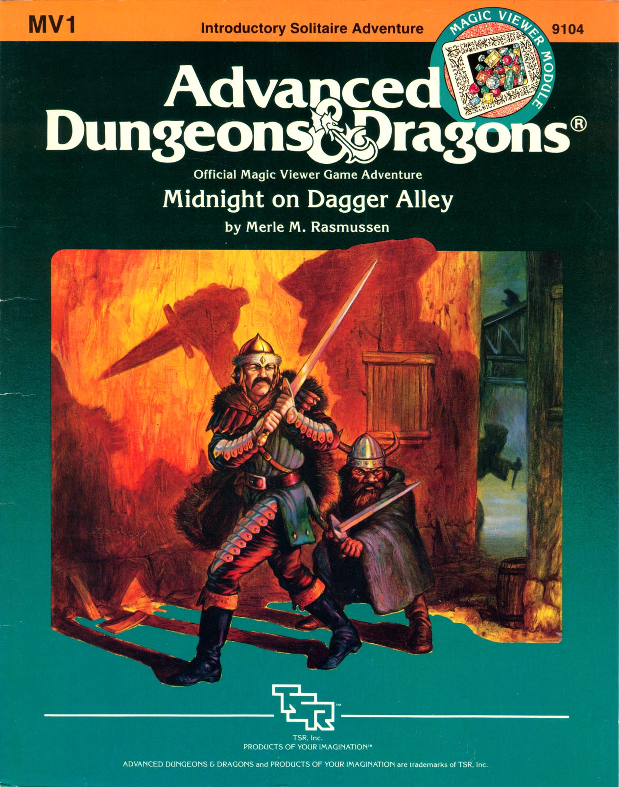 Cover of MV1 Midnight on Dagger Alley