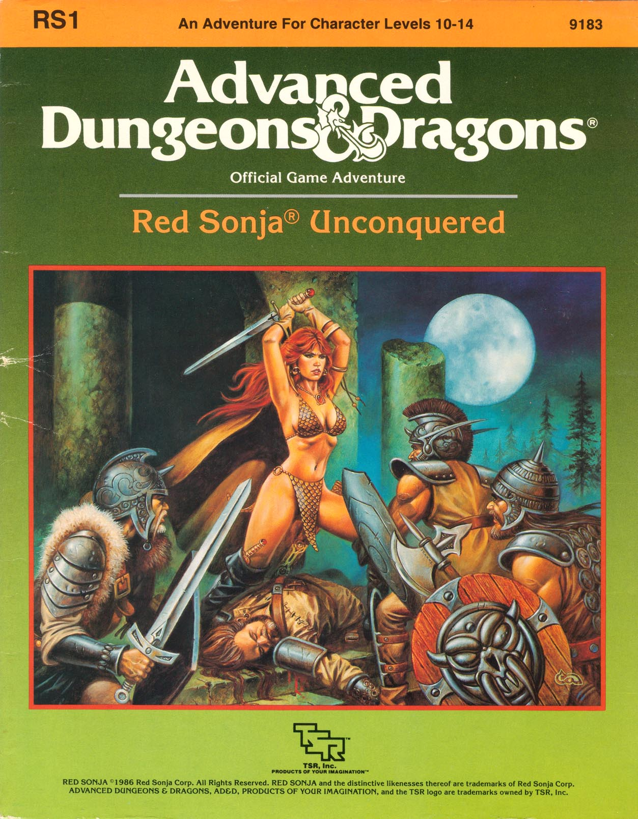 Cover of RS1 Red Sonja Unconquered